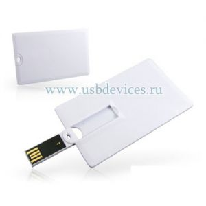 PF007 Визитка 4Гб пластик ― www.usbdevices.ru