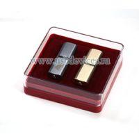 Футляр для флешки пластиковый красный Abox011